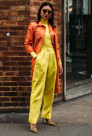 Фото №2 - Апельсин, лимон, лайм: как носить цитрусовые оттенки летом