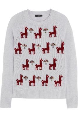 Фото №6 - Новогоднее настроение: топ-8 праздничных свитеров