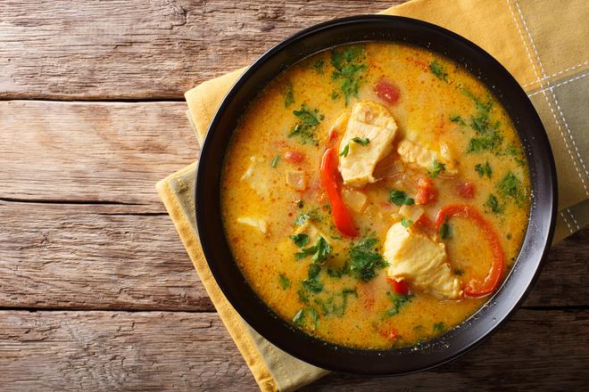 Суп из рыбных консервов рецепт приготовления в домашних условиях