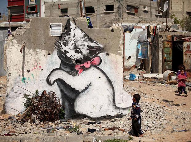 Фото №13 - Кто такой Бэнкси: художник, «качественный вандал» и провокатор