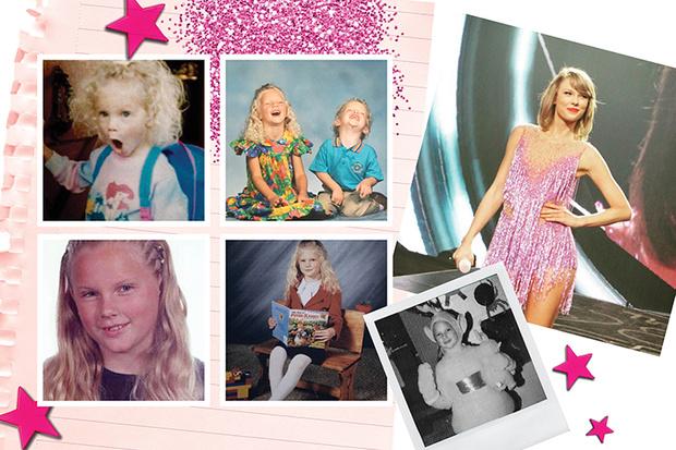 Тейлор Свифт детские фото