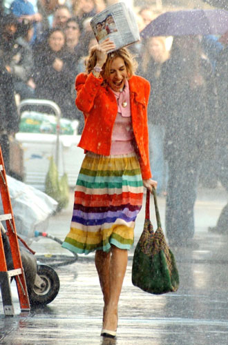 Фото №6 - Стиль в большом городе: любимые бренды Кэрри Брэдшоу