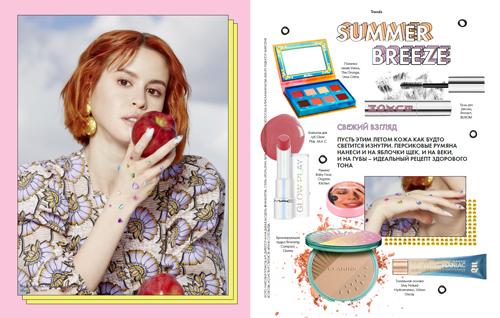 Фото №4 - Белла Порч и Аня Покров на обложках летнего номера ELLE girl 🔥