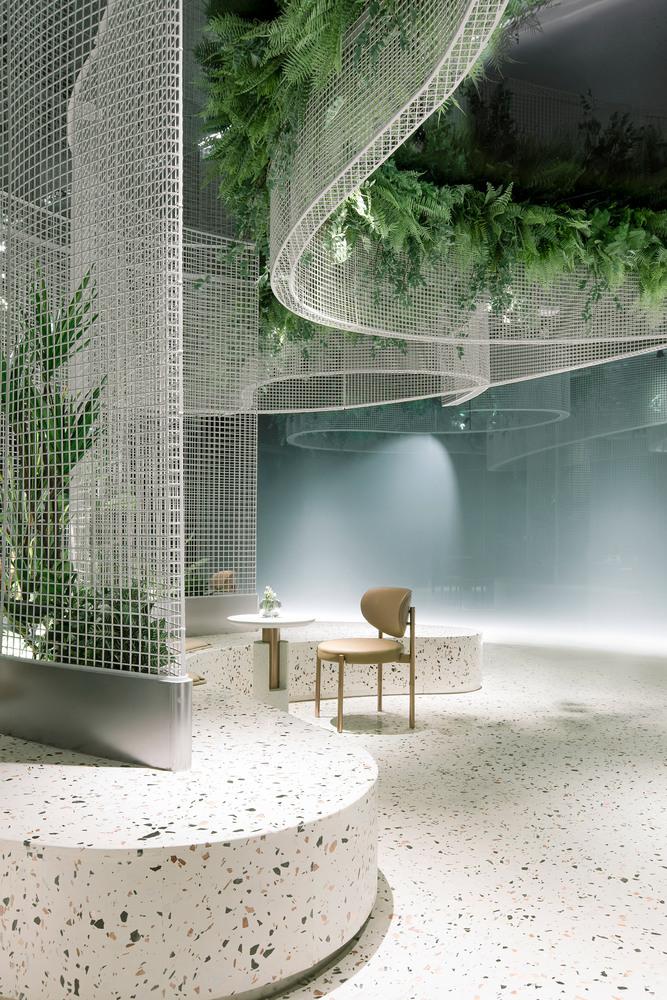 Фото №5 - Кофейня с «парящим» садом в Гуанчжоу