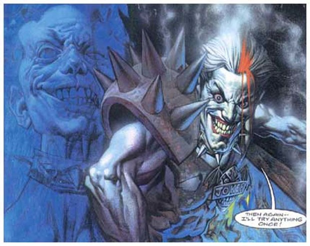 Фото №2 - Топ-7 безумных версий Джокера, о которых ты могла не знать