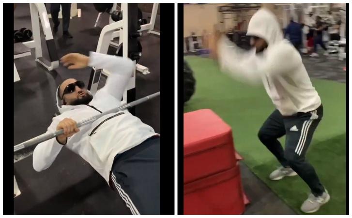 Фото №1 - Боец UFC метко спародировал безумные тренировки соперника Хабиба (видео)