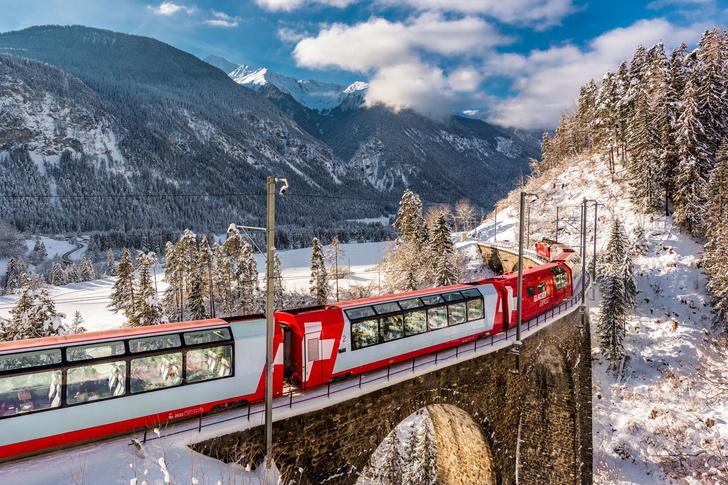 Фото №1 - Ледниковый Экспресс по сказочной Швейцарии