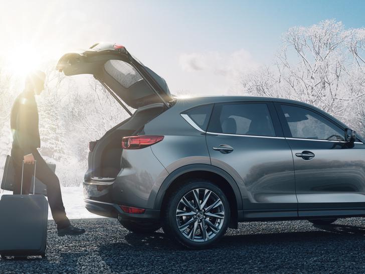 Фото №4 - Остаемся зимовать: Mazda CX-5 получила теплые опции