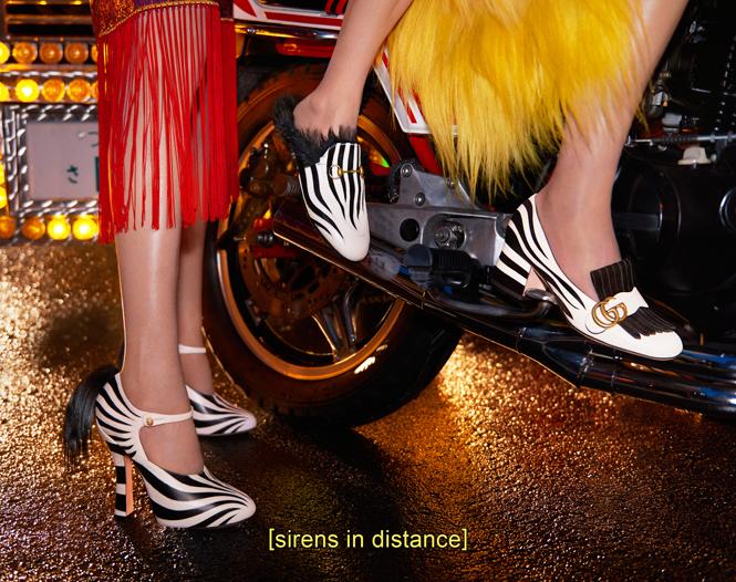 Фото №7 - Японское приключение Петры Коллинс и Ко: новая кампания Gucci