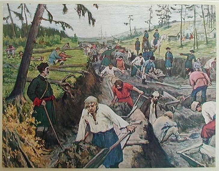 Фото №4 - Грандиозная затея Петра: 14 загадок Староладожского канала