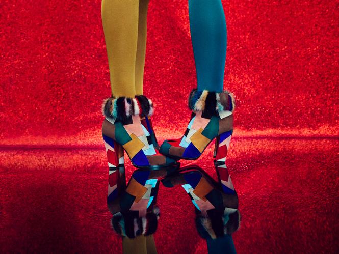 Фото №3 - Диско-шик в новой коллекции Christian Louboutin осень-зима 2016/17