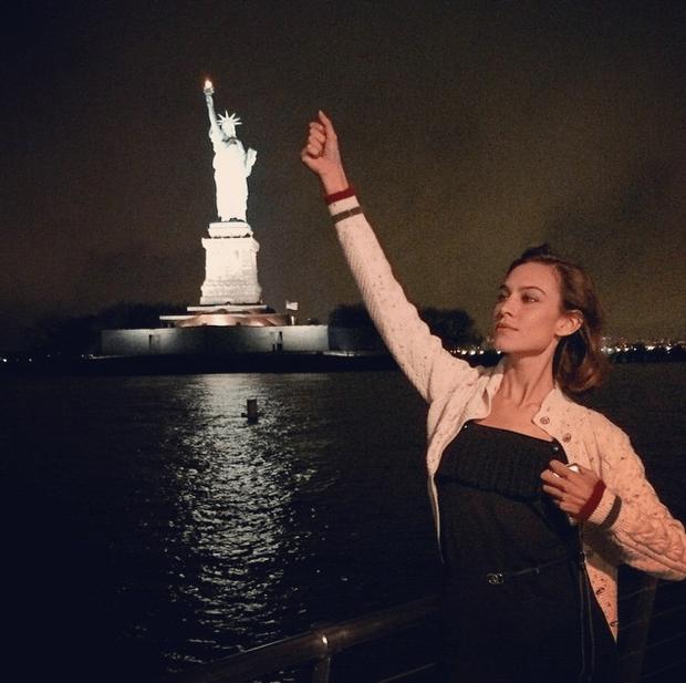 Фото №8 - Звездный Instagram: Знаменитости путешествуют