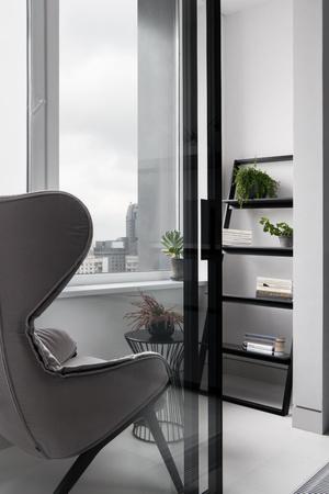 Фото №5 - Московская квартира 56 м² в серых тонах
