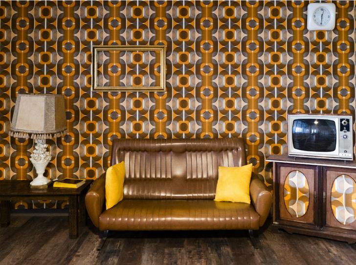 Фото №8 - Винтаж в интерьере: как не превратить квартиру в «бабушкин сундук»