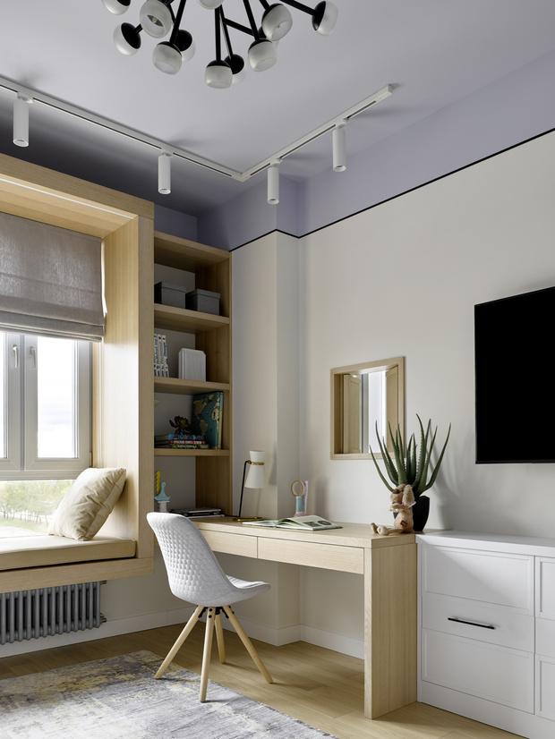 Фото №7 - Экологичная квартира в мятных оттенках
