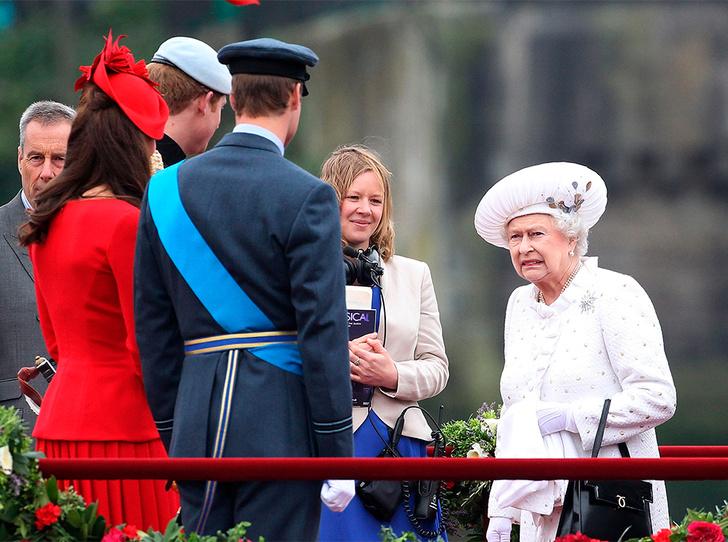 Фото №4 - Кейт в горошек и Меган в полоску: на что намекают две герцогини