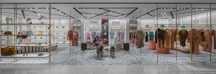 Фото №1 - Новый бутик Fendi в ЦУМе