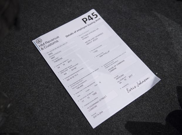 Фото №5 - Как провалить публичное выступление: наглядное пособие от Терезы Мэй (и работа над ошибками)