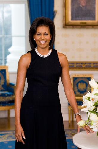 Фото №13 - От супруги президента к модной иконе: эволюция стиля Мишель Обамы