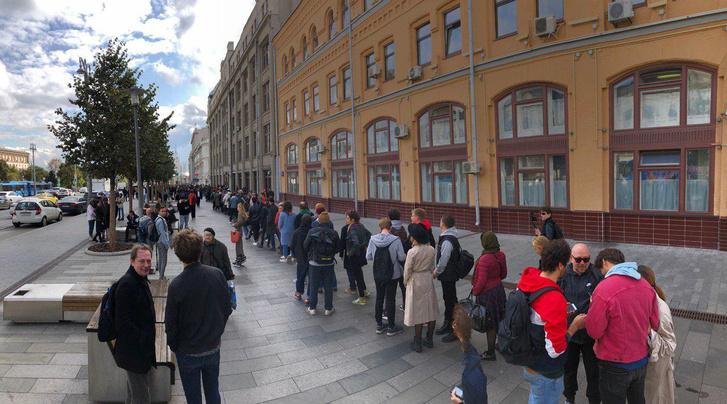 Фото №9 - В Москве началась серия одиночных пикетов в поддержку осуждённого на 3,5 года Павла Устинова (фото и видео)