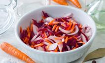 Салат из свеклы с морковью