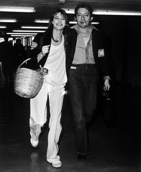 Джейн Биркин и Серж Генсбур, 1977 год