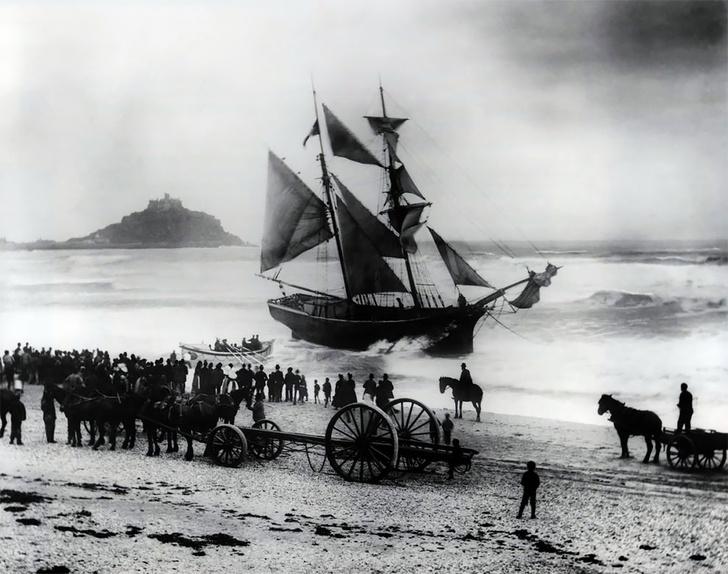 Фото №5 - Не повезло: старинные фотографии кораблекрушений