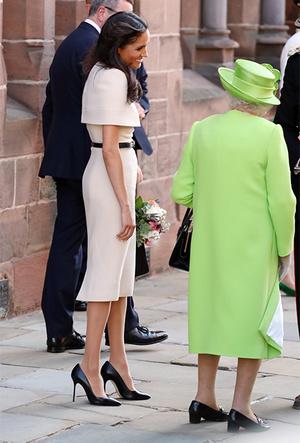 Фото №3 - Насколько герцогиня Меган уже сблизилась с королевской семьей