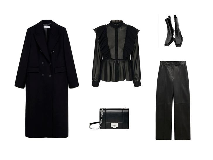 Фото №2 - Вдохновляемся total-black образом Малефисенты: 3 стильных лука на осень