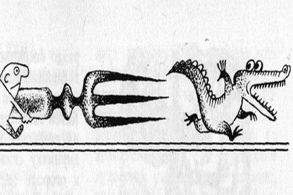 Фото №1 - «Трех змей — на угловой столик!»