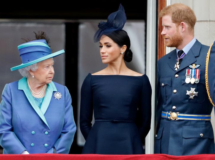 Фото №1 - Решение принято: Елизавета II выступила с заявлением по поводу будущего Сассекских
