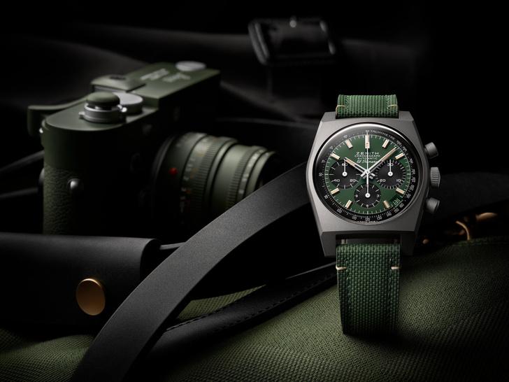 Фото №1 - Зов Африки: часы Zenith Chronomaster, вдохновленные сафари