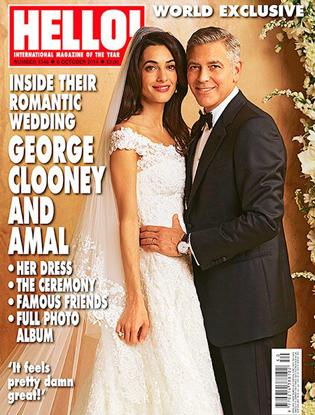Фото №1 - Итоги-2014: самые громкие звездные свадьбы