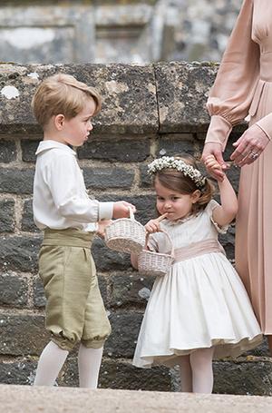Фото №11 - Принцесса Шарлотта и принц Джордж на свадьбе Пиппы Миддлтон (фото)
