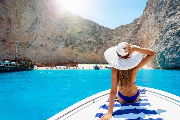 пляжи с белым песком и бирюзовой водой, красивые пляжи