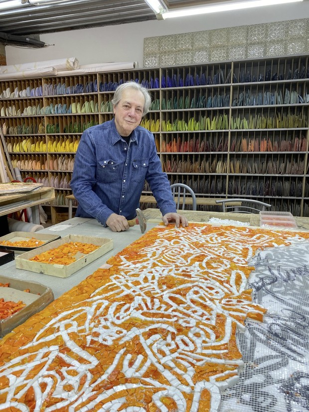 Фото №1 - Третий Рим: художник по мозаике Марко Бравура
