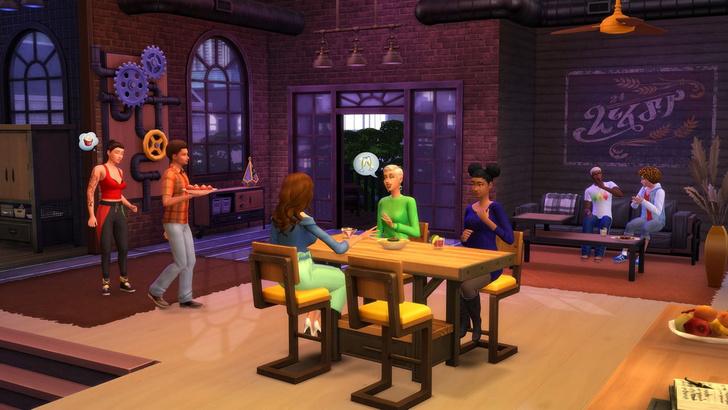 Фото №3 - Что тебя ждет в новом наборе «Лофт комплект» для The Sims 4 🌃