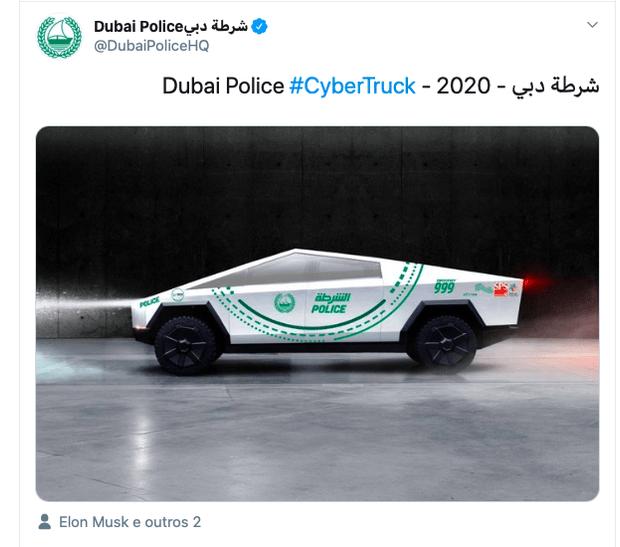 Вброс от полиции Даби может оказаться не просто вбросом. Блюстители порядка из ОАЭ известны своими пристрастиями к суперкарам в качестве служебных автомобилей. «Сайбертрак» этим парням подойдет идеально…