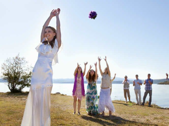 Фото №4 - Свадебный букет: история, традиции и приметы