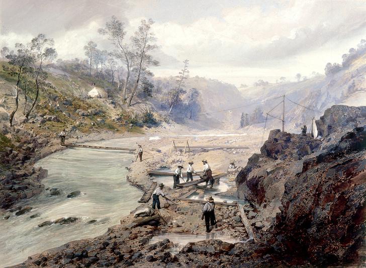 Фото №2 - 170 лет назад… началась самая знаменитая золотая лихорадка