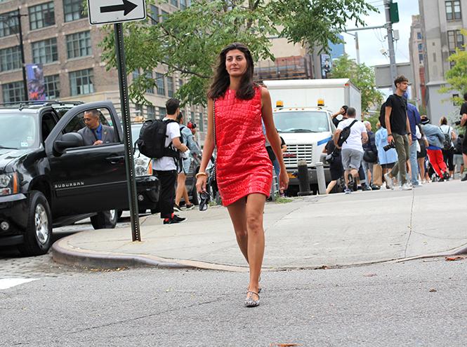 Фото №2 - Образы гостей недели моды в Нью-Йорке в прошедшие выходные