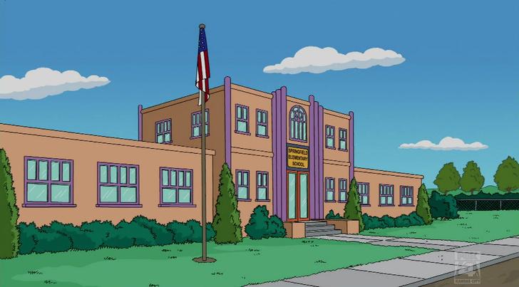 Фото №5 - Школа из «Симпсонов»: 10 скрытых деталей, которые ты точно не заметила