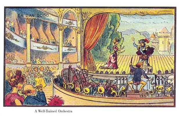 Фото №8 - Как люди изображали наше время сто лет назад