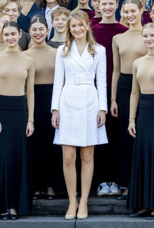 Фото №6 - «Бельгийская Кейт Миддлтон»: принцесса Элизабет и ее модные заявления