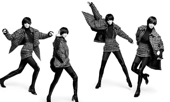 Фото №4 - Новая коллекция Chanel в объективе Карла Лагерфельда