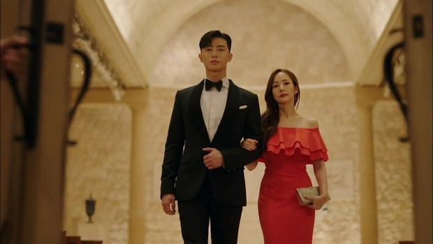 Фото №7 - Что так с секретарем Ким: 7 хитрых приемов классического стиля от Пак Мин Ён