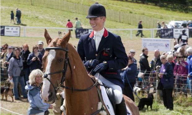 Фото №1 - Зара Филлипс дебютировала на Олимпийских играх