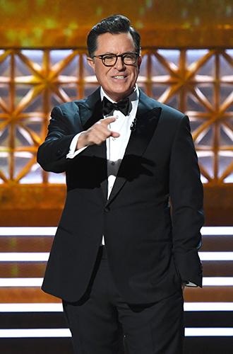 Фото №2 - Пошутить над Трампом: звезды Emmy-2017 «троллят» президента