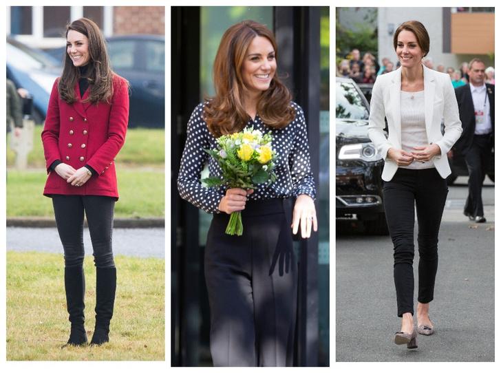 Фото №1 - Принцесса масс-маркета: как герцогиня Кейт носит одежду бюджетных брендов