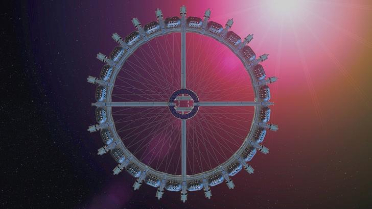 Фото №5 - Концепт: как будет выглядеть отель, расположенный в космосе